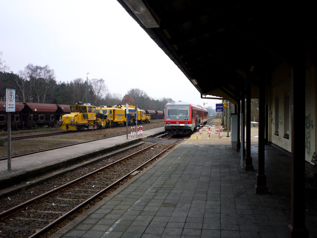 Bahnhof Munster (Örtze) (Munster (Oertze) train station)