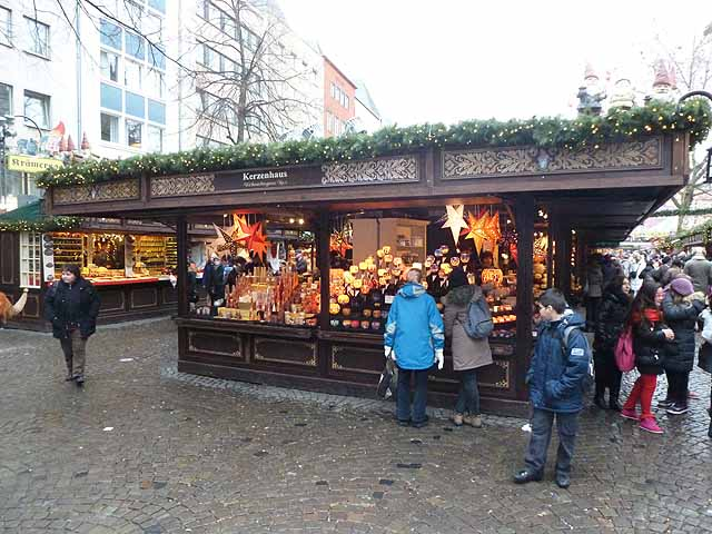 Christmas market in the Alter Markt