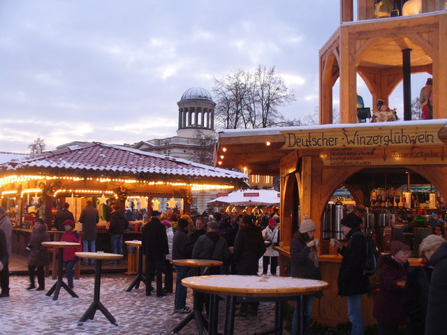 Deutscher Winzergluehwein (German Gluehwein from the Vintner)