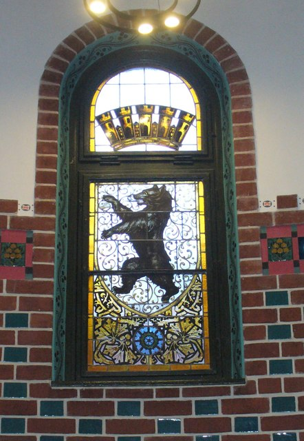 Koepenicker Rathaus - Fenster (Koepenick Town Hall - Window)