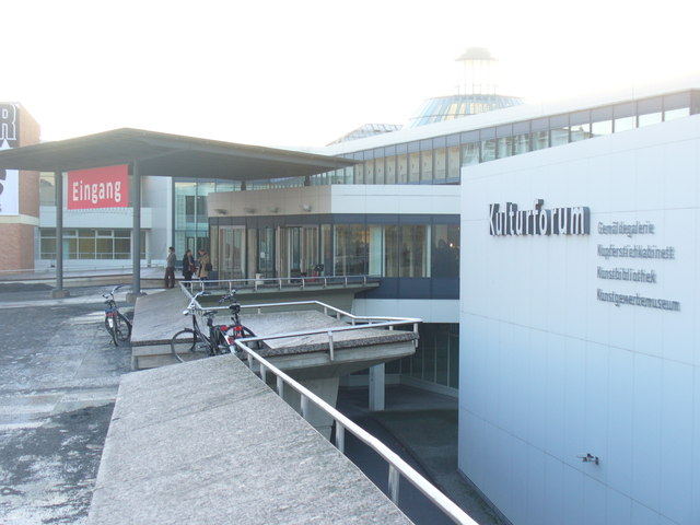 Eingang Kulturforum (Culture Forum Entrance)