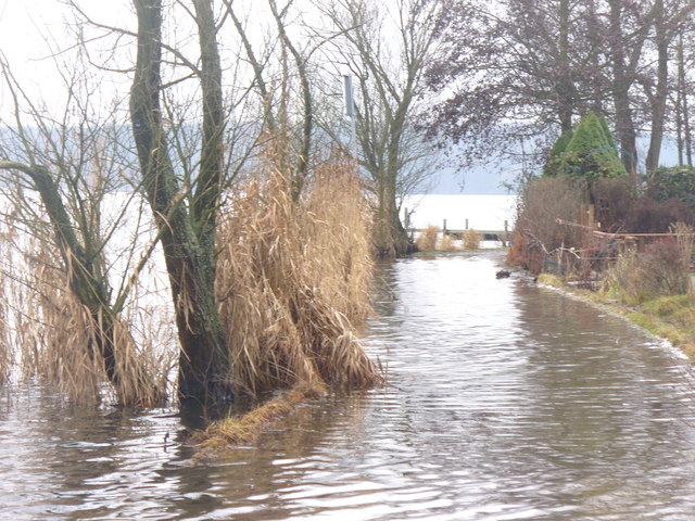 Haveluferweg Unter! (Havel Shore Way Flooded!)
