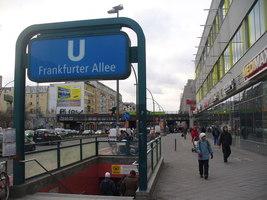 berlin u frankfurter allee mgrs 33uuu9619 geograph deutschland. Black Bedroom Furniture Sets. Home Design Ideas