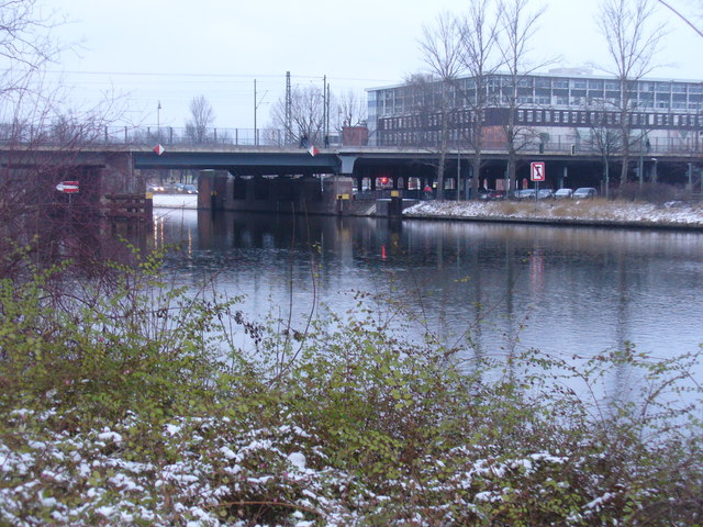 Charlottenburg - Eisenbahnbruecke (Railway Bridge)