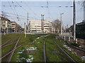 UNV1505 : Bad Cannstatt: Stadtbahngleise am Wilhelmsplatz von Hansjörg Lipp