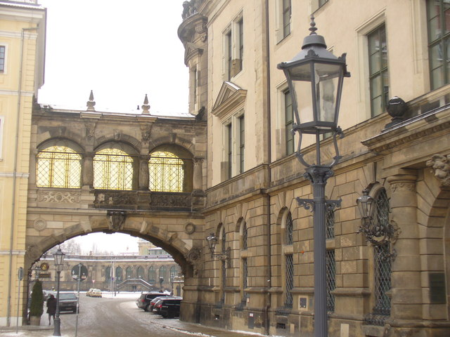 Dresden - Seufzenbruecke (Bridge of Sighs)