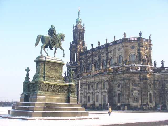 Dresden - Hofkirche (Court Church)