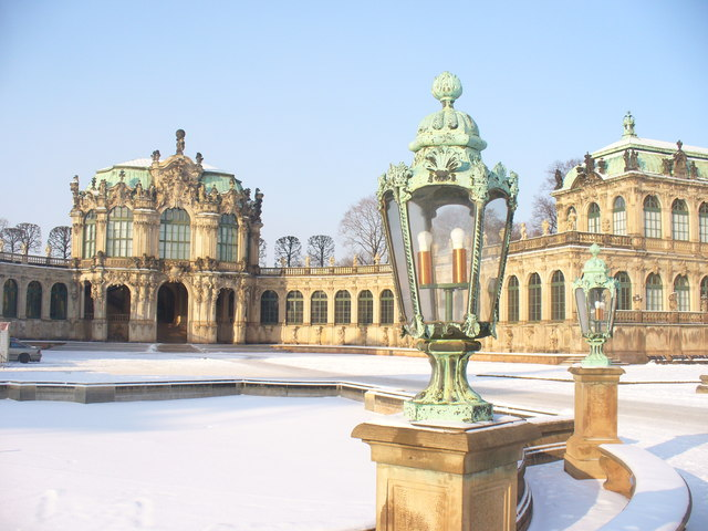 Zwinger - Wallpavillon und Innenhof (Wall Pavilion and Inner Courtyard)