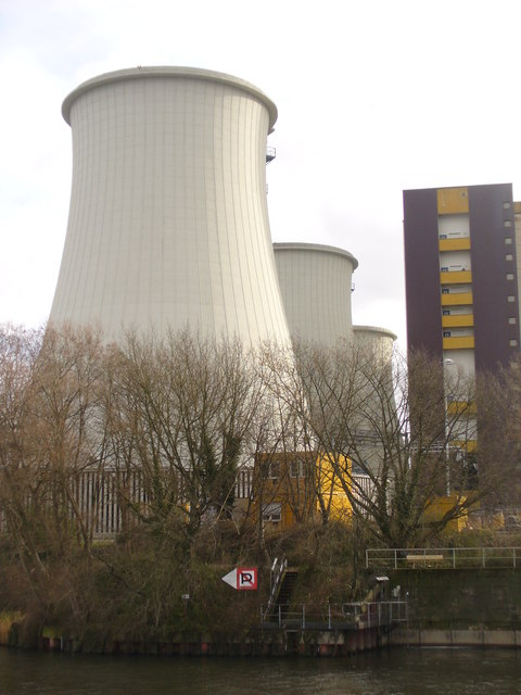 Kraftwerk Lichterfelde - Kuehlturm (Lichterfelde Power Station - Cooling Tower)