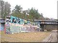 UUU7507 : Forst Dueppel - Ehemalige Autobahn und Eisenbahn (Dueppel Forest - Former Motorway and Railway) von Colin Smith