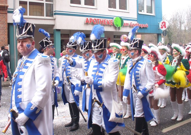 Cottbus - Blau-Weiss Prinzengarde (Blue-White Prince's Guard)