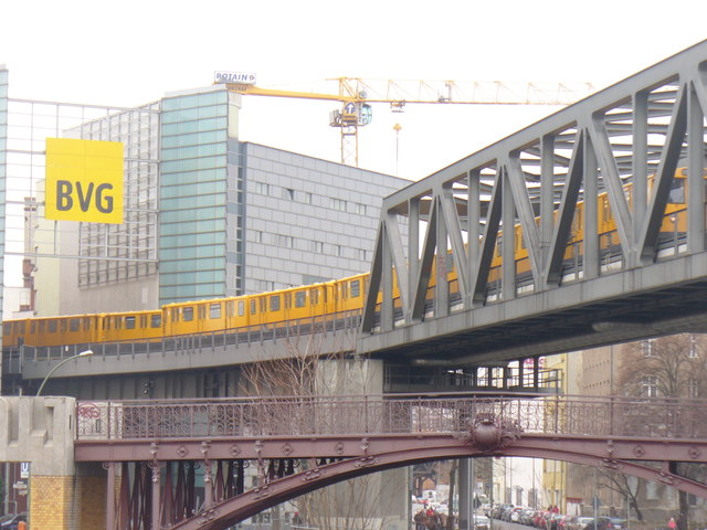 Kreuzberg - Hochbahn (Elevated Railway)