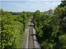 Zollernalbbahn östlich von Dußlingen
