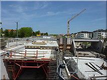 Dußlingen: Bauarbeiten an der B27