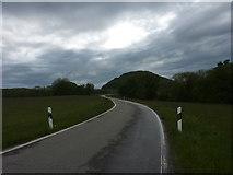Die K6730 vor dem Roßberg