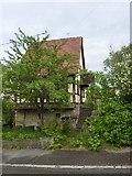 Gönningen: Fachwerkhaus an der Roßbergstraße