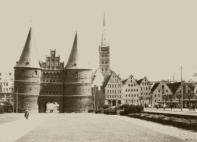 Lübeck 1964 Holstentor