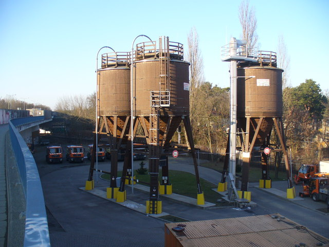 Spindlersfeld - Splittsteintanken (Stone Chip Tanks)