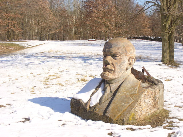 Potsdam Lenin Im Waldpark Lenin In The Woodland Park Mgrs
