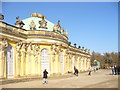 UUU6607 : Sanssouci - Suedseite des Schlosses (South Facade of Palace) von Colin Smith