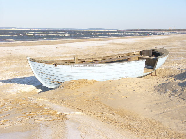 Ahlbeck - Boot auf dem Strand (Boat on the Beach)