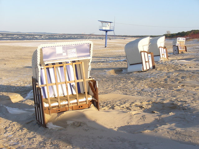 Ahlbeck - Strandkorben (Beach Basket Chairs)