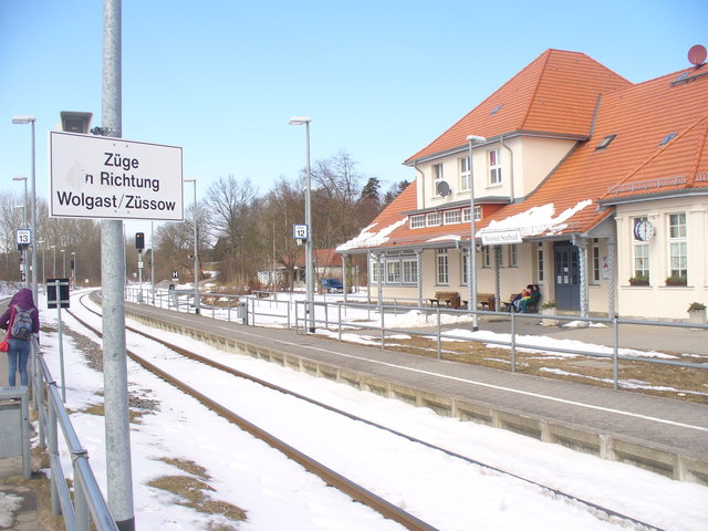Bahnhof Bansin Seebad (Bansin on Sea - Railway Station)