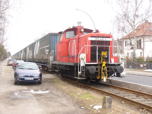 Zehlendorf - Gueterzug auf der Goerzbahn (Goods Train on the Goerz Railway)