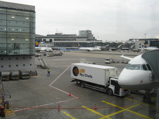 Frankfurt-am-Main Airport - View from Gate A15