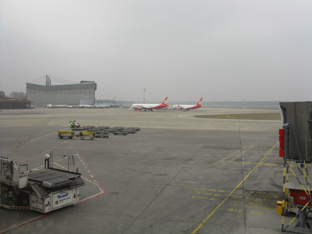 Berlin Tegel Airport (TXL) - view from gate A9