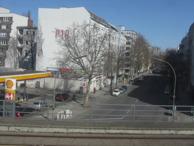 Paulstrasse from the S-Bahn