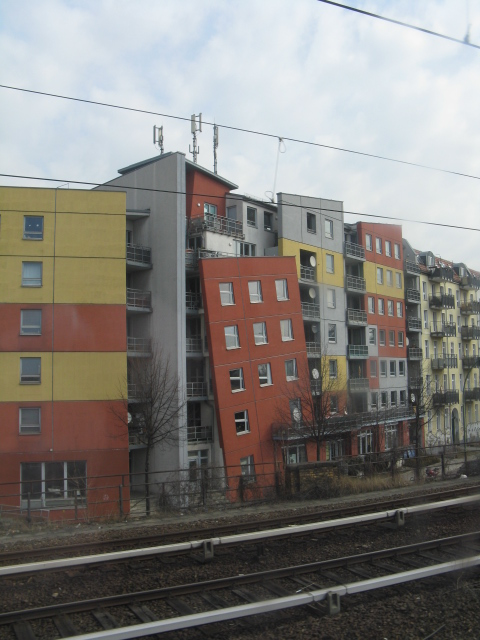 The crazy houses of Noeldnerstrasse