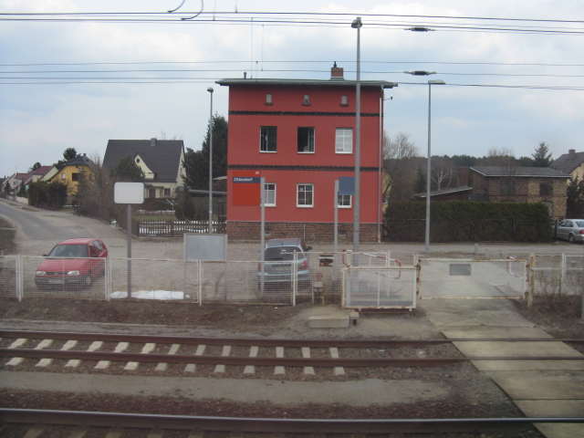 Ziltendorf - former level crossing site