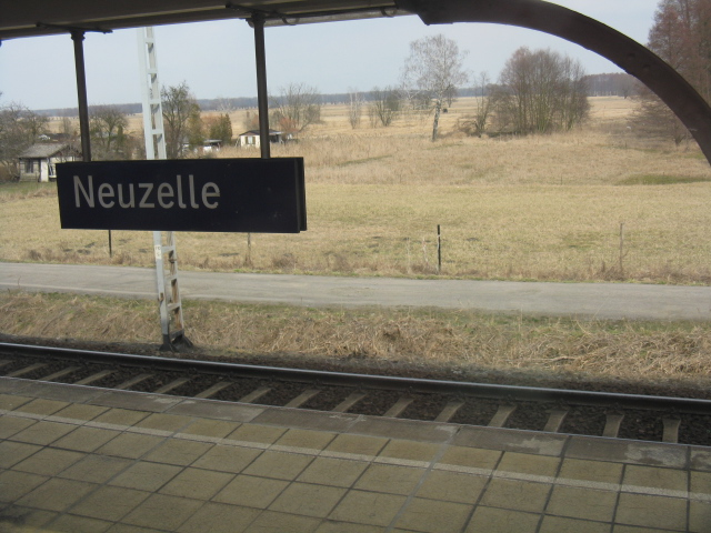 View from Neuzelle station