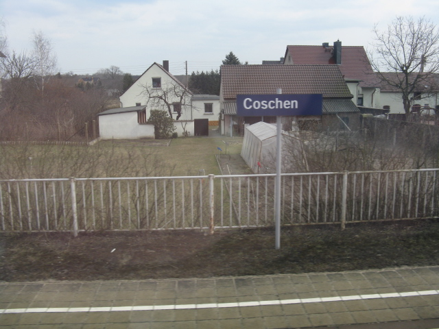 Coschen - house on Gartenstrasse from the station