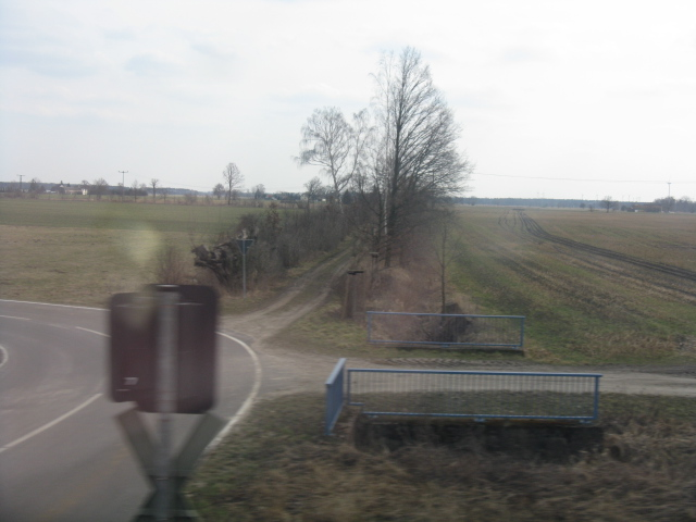 Fields at Alte Bahnhofstrasse level crossing