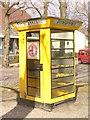 UUU8831 : Fernsprecher - Luebars (Telephone Call Box in Luebars) von Colin Smith
