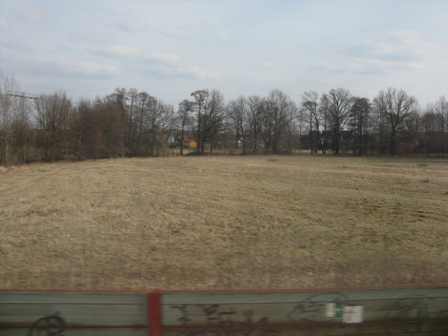 Fields by the railway, Wilmersdorf Nord (Cottbus)