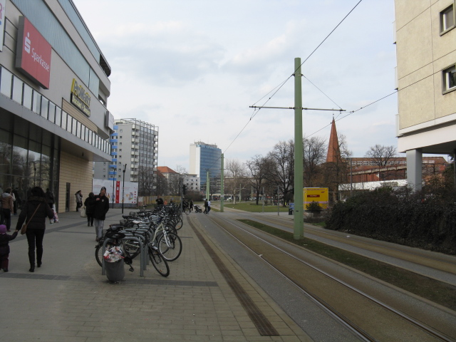 Cottbus - Friedrich Ebert Strasse, looking north