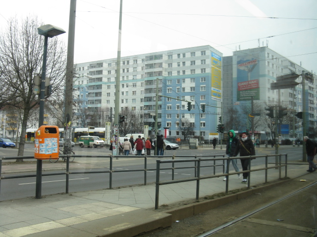 Intersection of Landsberger Allee & Danziger Strasse