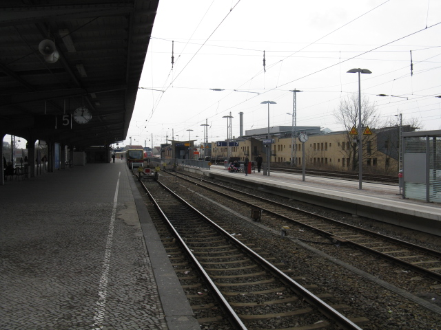 View south, Hennigsdorf station