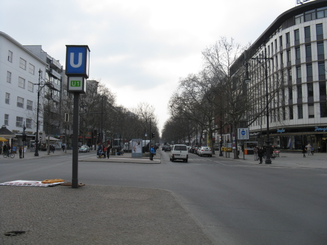 Kurfuerstendamm at Uhlandstrasse