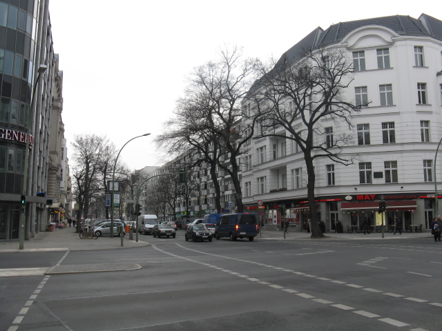 Uhlandstrasse at Lietzenburger Strasse