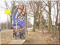 UUU8607 : Lichterfelde-Sued - Mauerreste (Lichterfelde-South - Berlin Wall Remnant) von Colin Smith