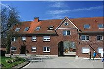 Hofeinfahrt in Lützerath