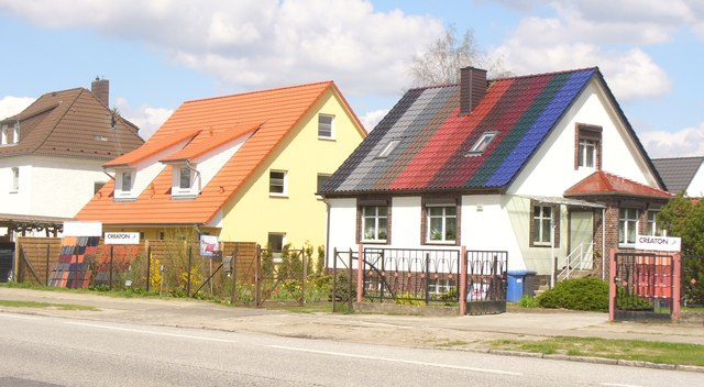 Teltow - Farbvolles Dach (Colourful Roof)