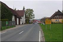 Hornau: Ortseingang