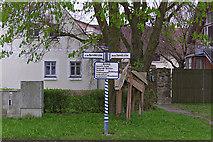 Hilsbach: Wegweiser
