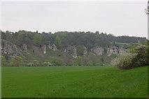 """Eßlingen: Felsengruppe """"Zwölf Apostel"""""""