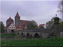 Ornbau: Brücke über die Altmühl